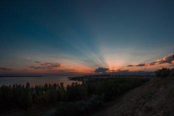 Закат с берег Жиргаланского залива-18 (3)