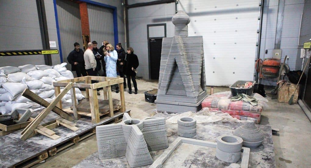 В Ярославской области установят часовню, напечатанную на 3D принтере