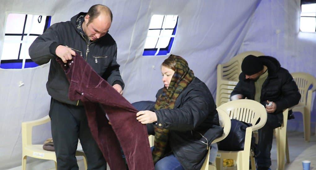 В связи с холодами в «Ангаре спасения» собирают теплые вещи для бездомных