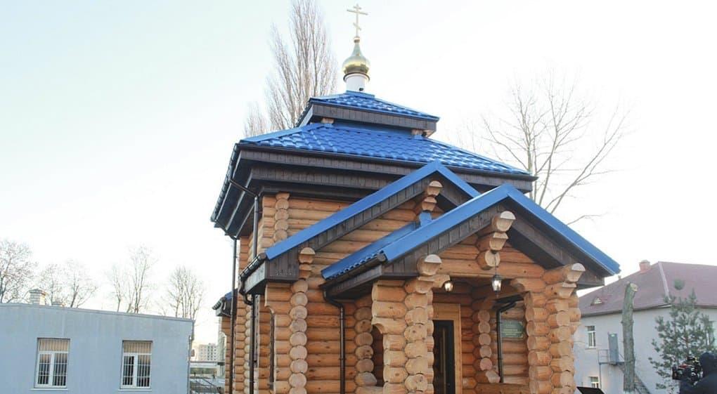 У морпехов Балтийского флота появился свой храм с уникальной звонницей