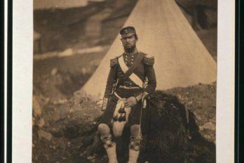 Капитан Cuninghame, 42-й полк