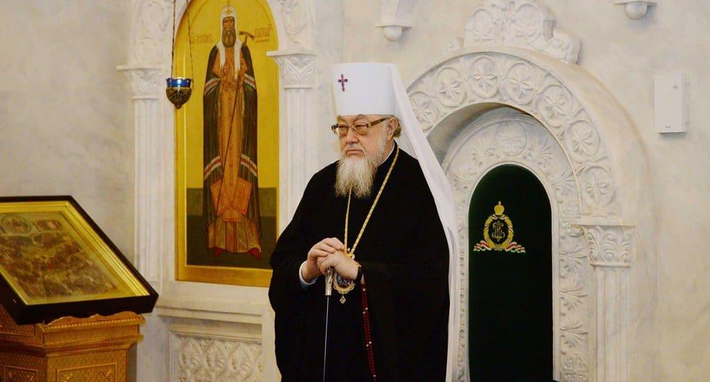 Митрополит Варшавский Савва поддержал каноническую Церковь на Украине