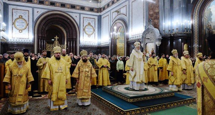 Патриарх Кирилл возглавит молебен на новолетие в храме Христа Спасителя