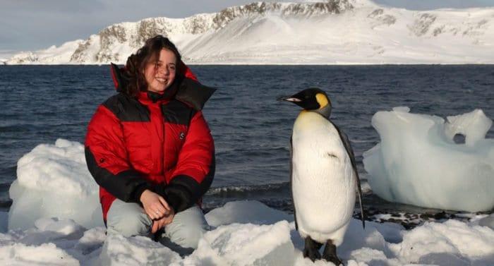 Полярная дочь. Ее путь кБогу лежал  через Антарктиду