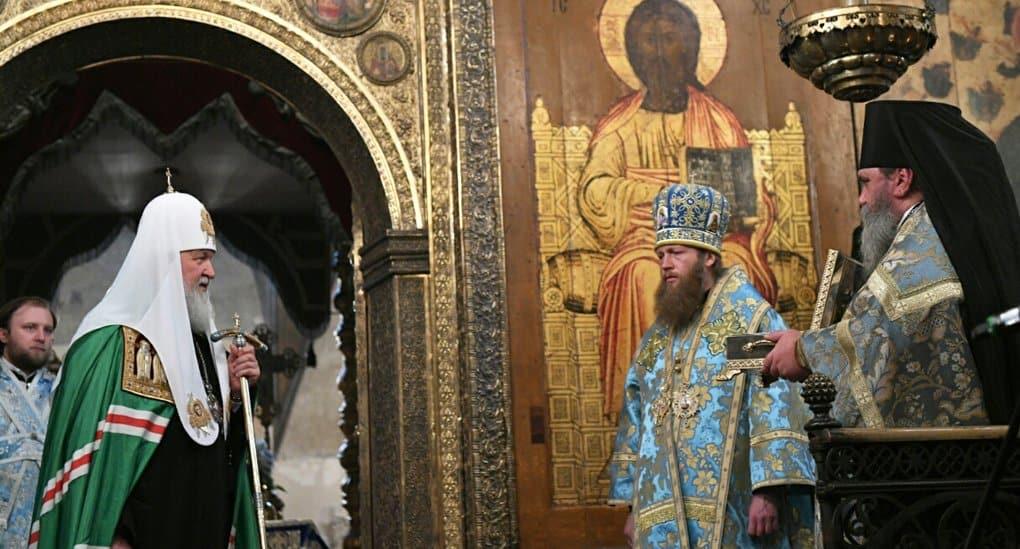 Патриарх Кирилл передал в Тверь частицу мощей князя Михаила Тверского