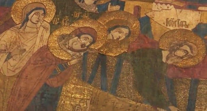 Уникальная плащаница XVI века после реставрации вернулась во Псков