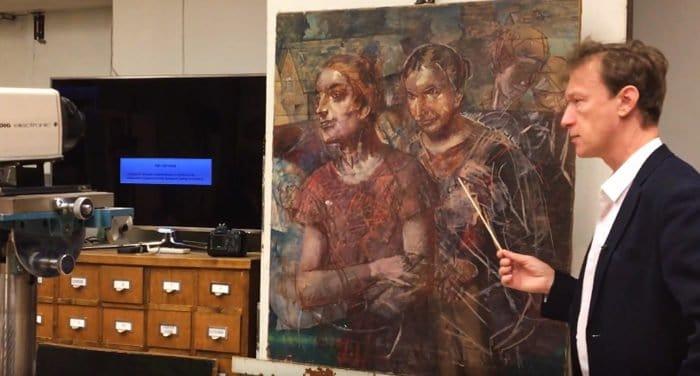 Под картиной Петрова-Водкина нашли его более ранний портрет Александра Пушкина