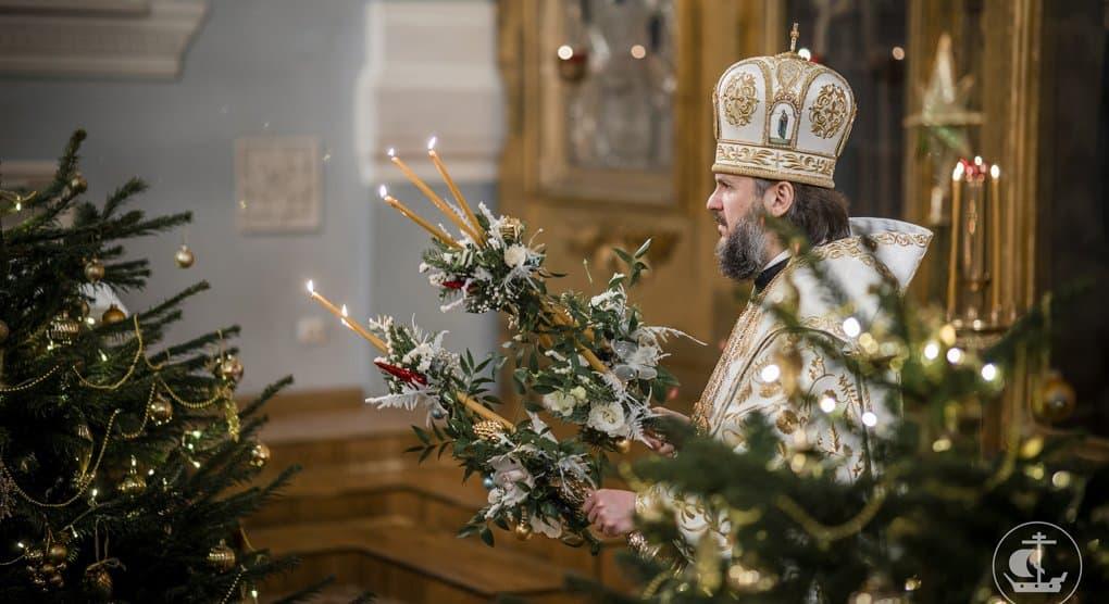 У православных христиан первый день Святок