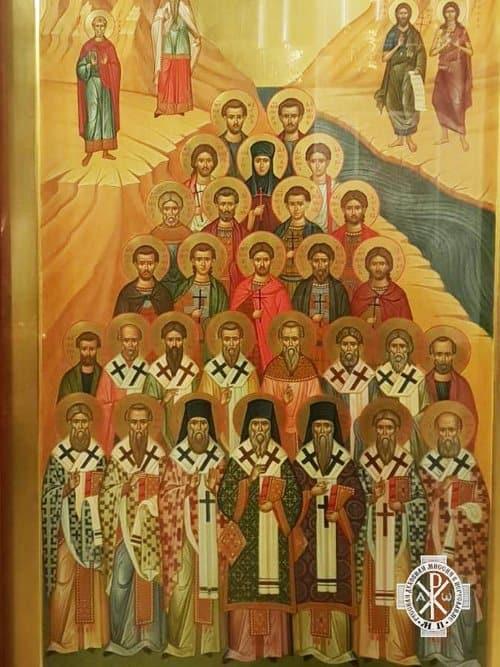 Русскому храму в Иордании подарили уникальную икону иорданских святых