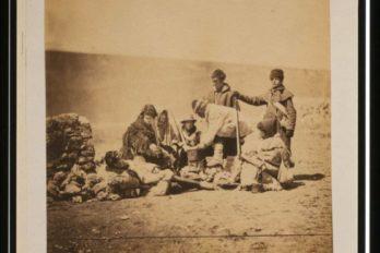 Солдаты 47-го полка в зимней одежде