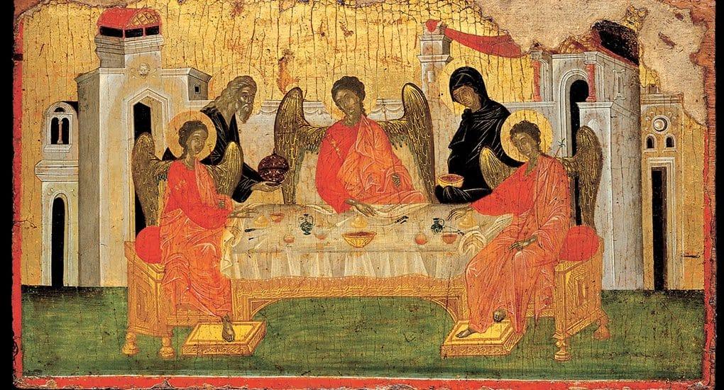 Как на иконах изображают Бога Отца?