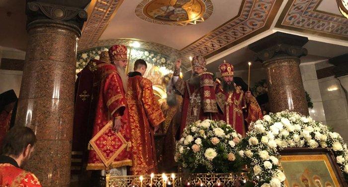 В Храме на Крови Екатеринбурга освятили придел на месте комнаты, где убили Царскую семью