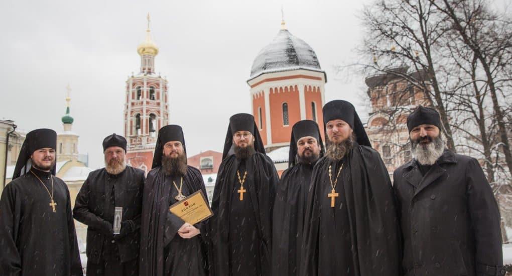Высоко-Петровский монастырь получил премию за лучшую реставрацию в Москве