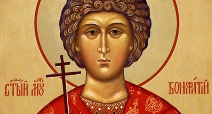 Канон святому мученику Вонифатию. Глас 4