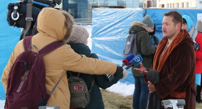В Екатеринбурге на Крещение можно окунаться в обогреваемых палатках