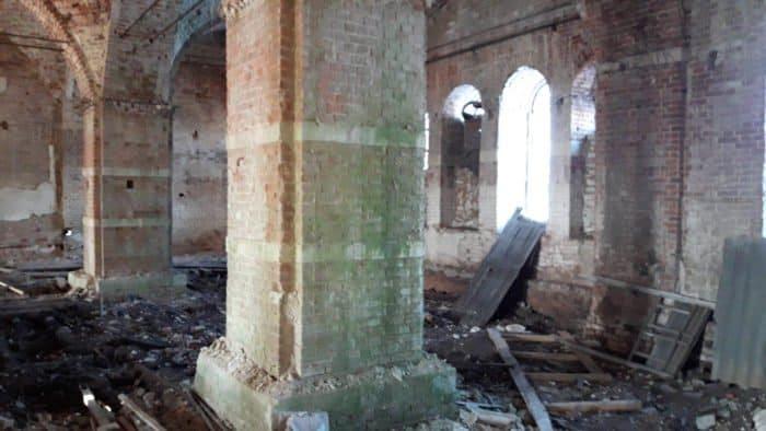 Богоявление в храме, который защищала новомученица