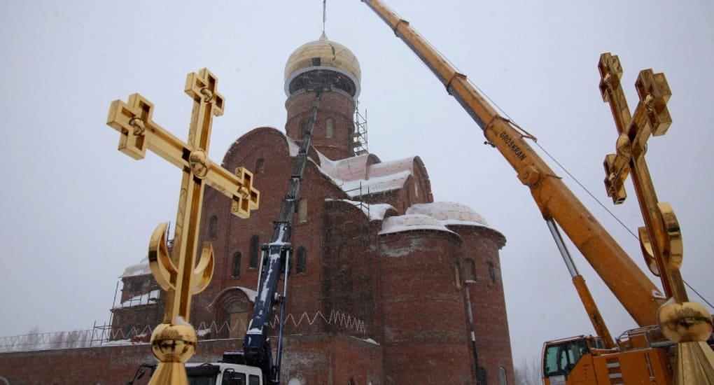 Более 230 храмов строятся в настоящее время в Москве