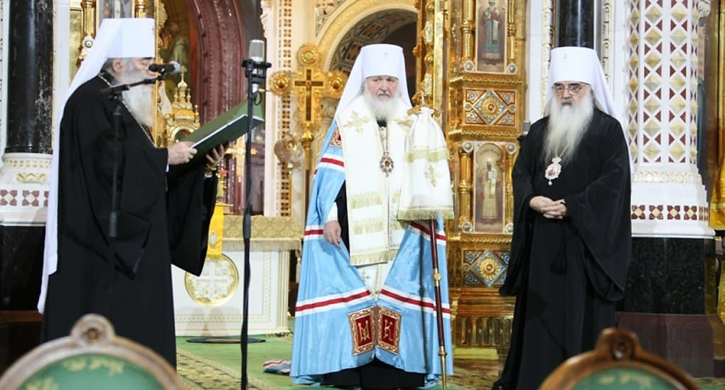 На «YouTube» создан раздел о 10-летии интронизации патриарха Кирилла