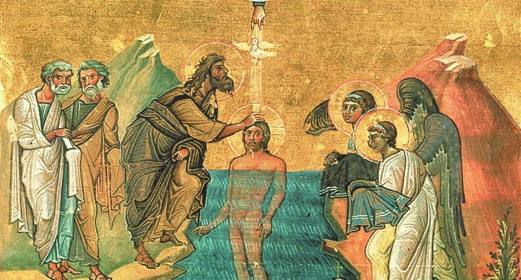 Как пророк Иоанн Предтеча совершил Крещение Господне