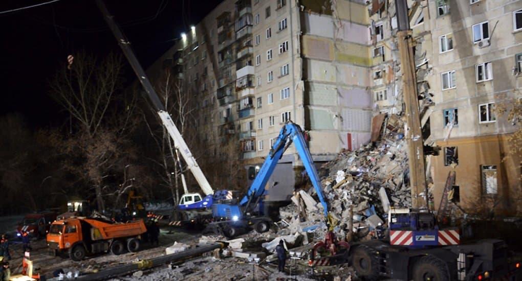 Церковь помогает пострадавшим при взрыве газа в жилом доме Магнитогорска