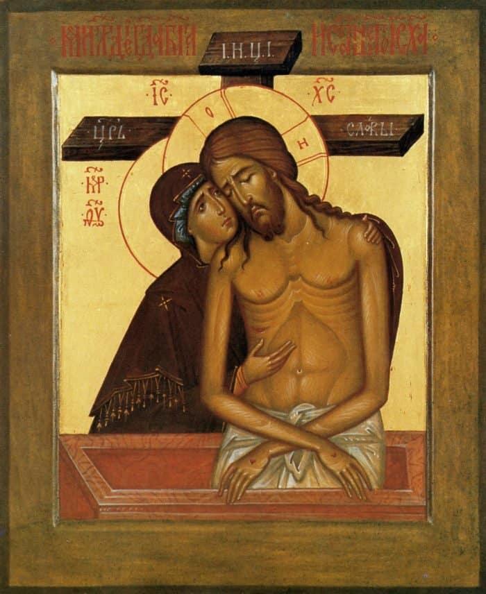 Святые тоже обнимаются: 6 икон с проявлением чувств