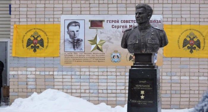 Подорвавшему себя вместе с фашистами герою Великой Отечественной установили памятник