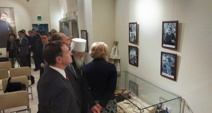 В «Иностранке» открылась мемориальная выставка об отце Александре Мене