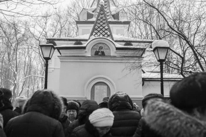 Близ часовни Ксении Петербургской