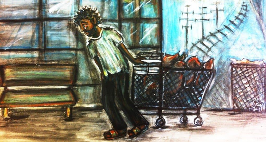А вам бездомные часто помогают? Чтобы по делу и конкретно?