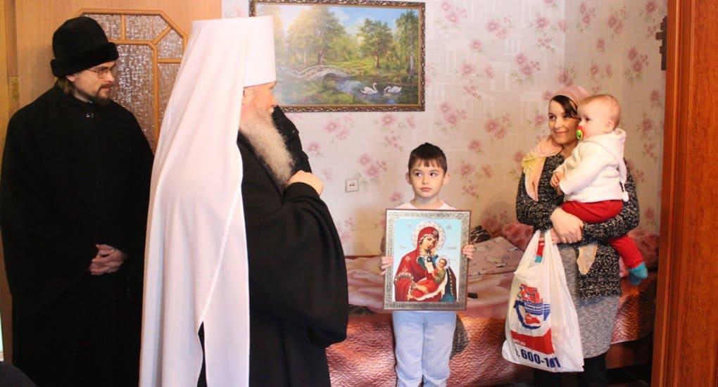 В Кургане Церковь открыла «Обитель милосердия» для мам и детей в тяжелой ситуации