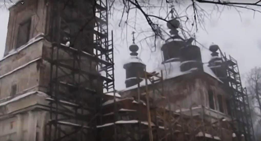 В нижегородском селе восстанавливают храм, простоявший в запустении более 80 лет