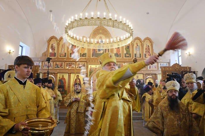 Первый для Москвы храм в честь святой княгини Ольги освятили в Останкине