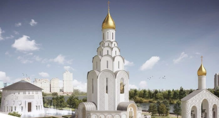 Объявлен конкурс по выбору мозаичных панно для строящегося храма в Тушине