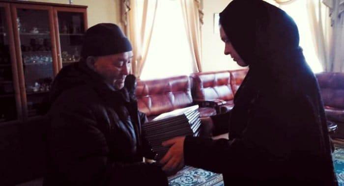 Якутская епархия передала эвенкам перевод книги пророка Ионы