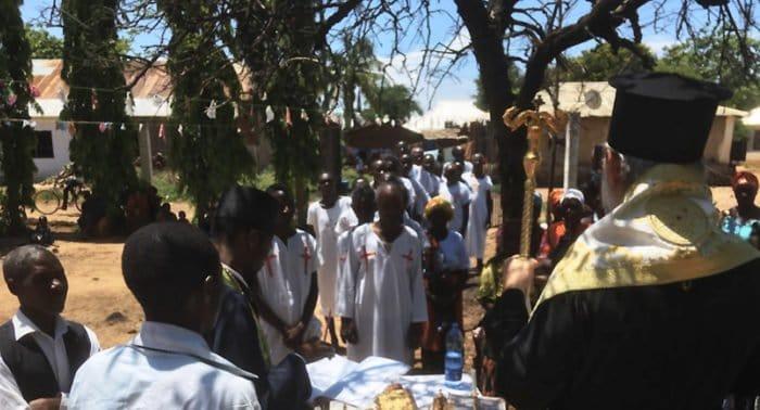 В Танзании в один день приняли православие более 500 человек