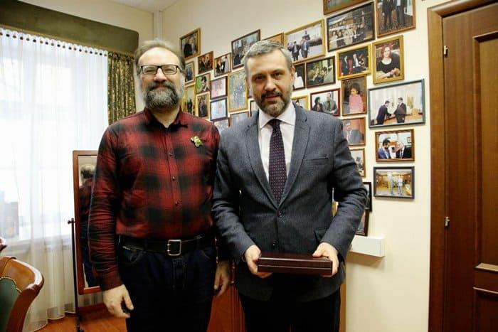 Автор «Фомы» Сергей Худиев награжден орденом Сергия Радонежского III степени