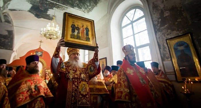 В Елабуге прославили расстрелянных священника и трех его сыновей