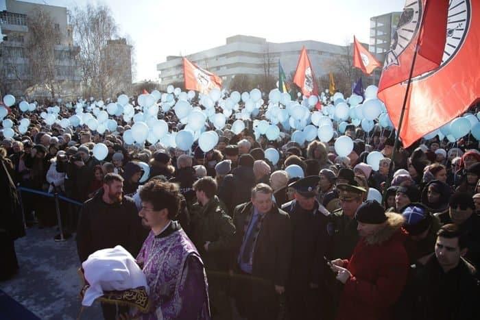 Общегородской молебен Торжества Православия в Екатеринбурге