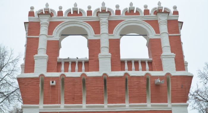 Отреставрирована одна из башен Донского монастыря