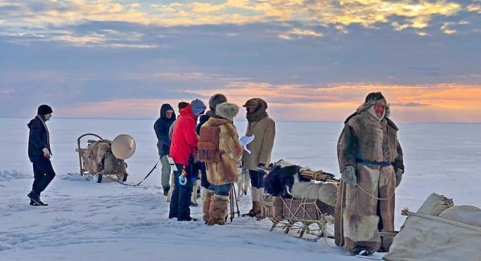 Начались съемки фильма «Архипелаг» об экспедиции, измерившей Землю