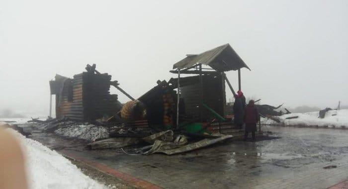При пожаре в храме пензенского села уцелели мощи святого
