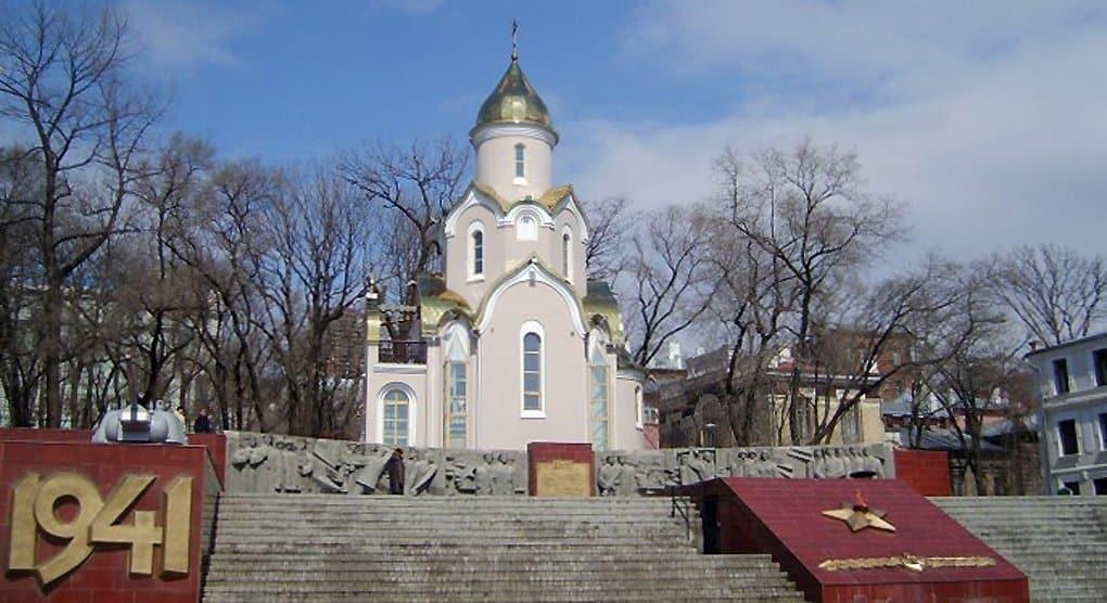 Тихоокеанский флот поможет отремонтировать храм-часовню во Владивостоке