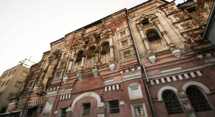 В Казани под двухэтажной надстройкой нашли считавшийся утраченным храм начала XVIII века
