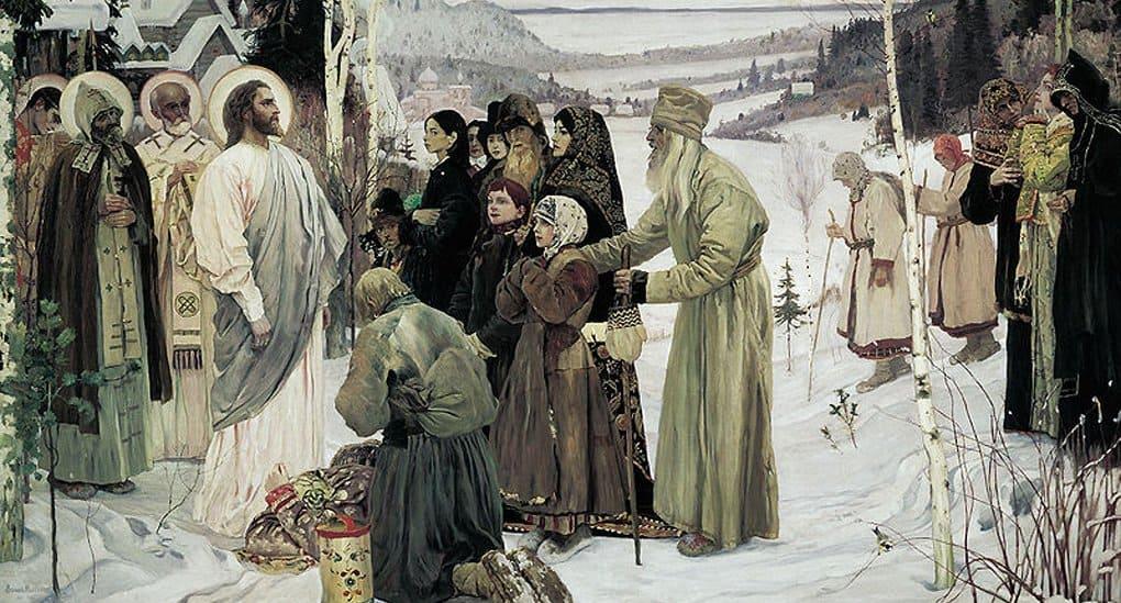 Картину Михаила Нестерова «Святая Русь» отреставрируют впервые с 1921 года