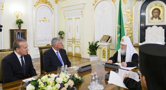 Патриарх Кирилл призвал христиан Востока и Запада объединиться в деле миротворчества