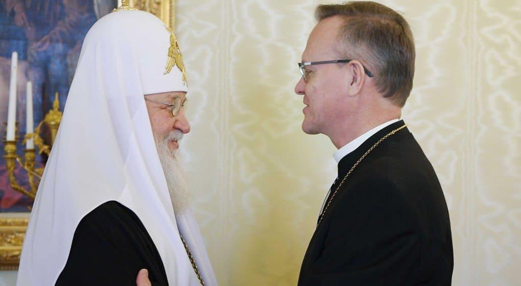Патриарх Кирилл считает важным развивать молодежное и волонтерское служения вместе с лютеранами Финляндии