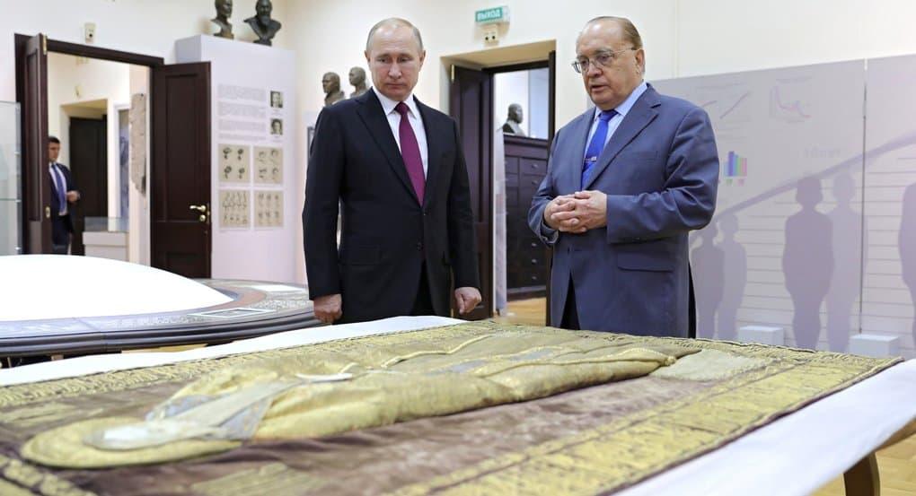 В ящике с египетской мумией нашли покров с ликом Зосимы Соловецкого