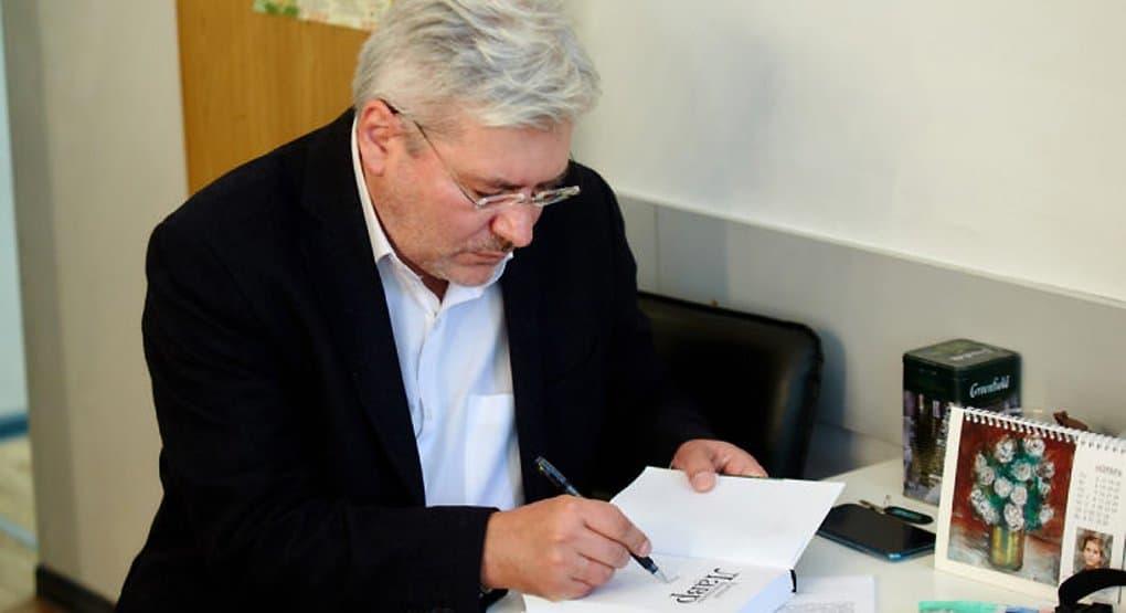 Евгений Водолазкин назвал «Фому» прекрасным журналом, в котором есть диалог