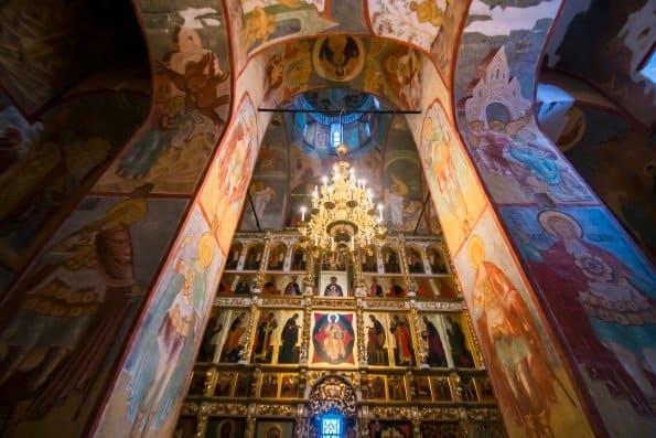 После 10 лет реставрации открыли Успенский собор Свияжска с уникальными фресками