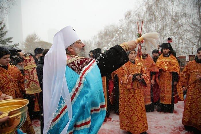 В Екатеринбурге освятили место под новый храм святой Екатерины